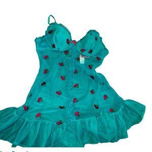 NWT Victoria's Secret cherry lingerie pajamas